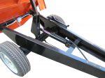 Прицеп тракторный одноосный самосвальный ПТО-1500