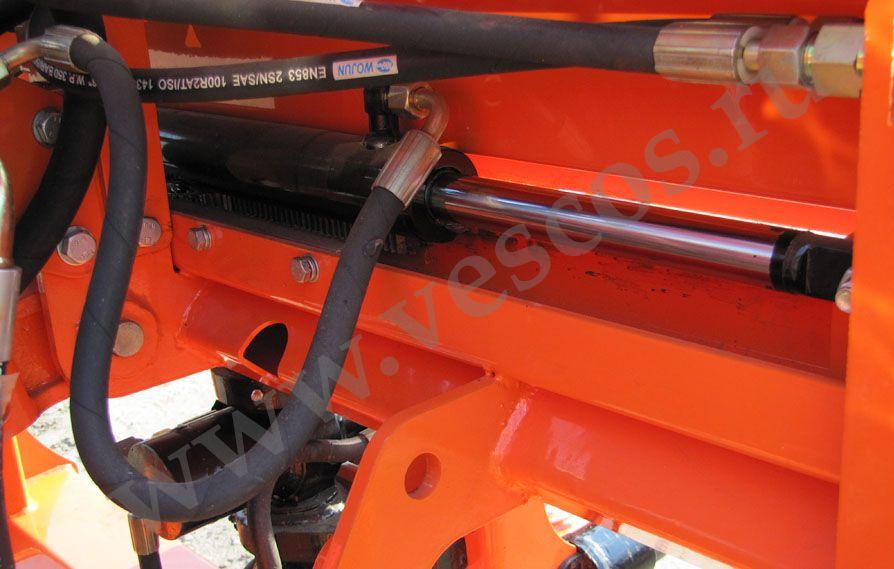 и ТАКОЕ БЫВАЕТ ! Гидромолот 120 импульс на тракторе ЮМЗ.
