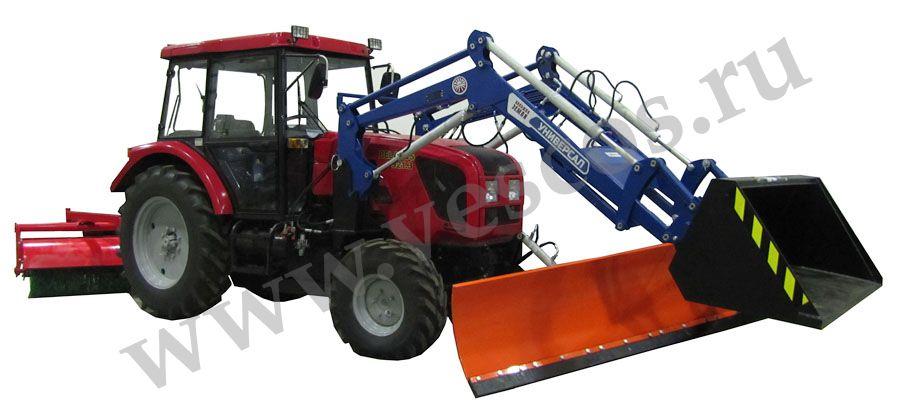 Трактор с ковшом (минитрактор) - устройство, применение