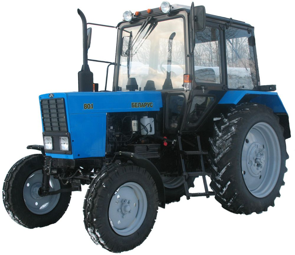 Трактор МТЗ-80: описание и технические характеристики