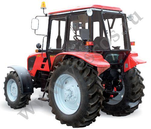 Трактор с отвалом и щёткой - YouTube